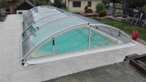 Zastřešení bazénu Poolor Classic bílá