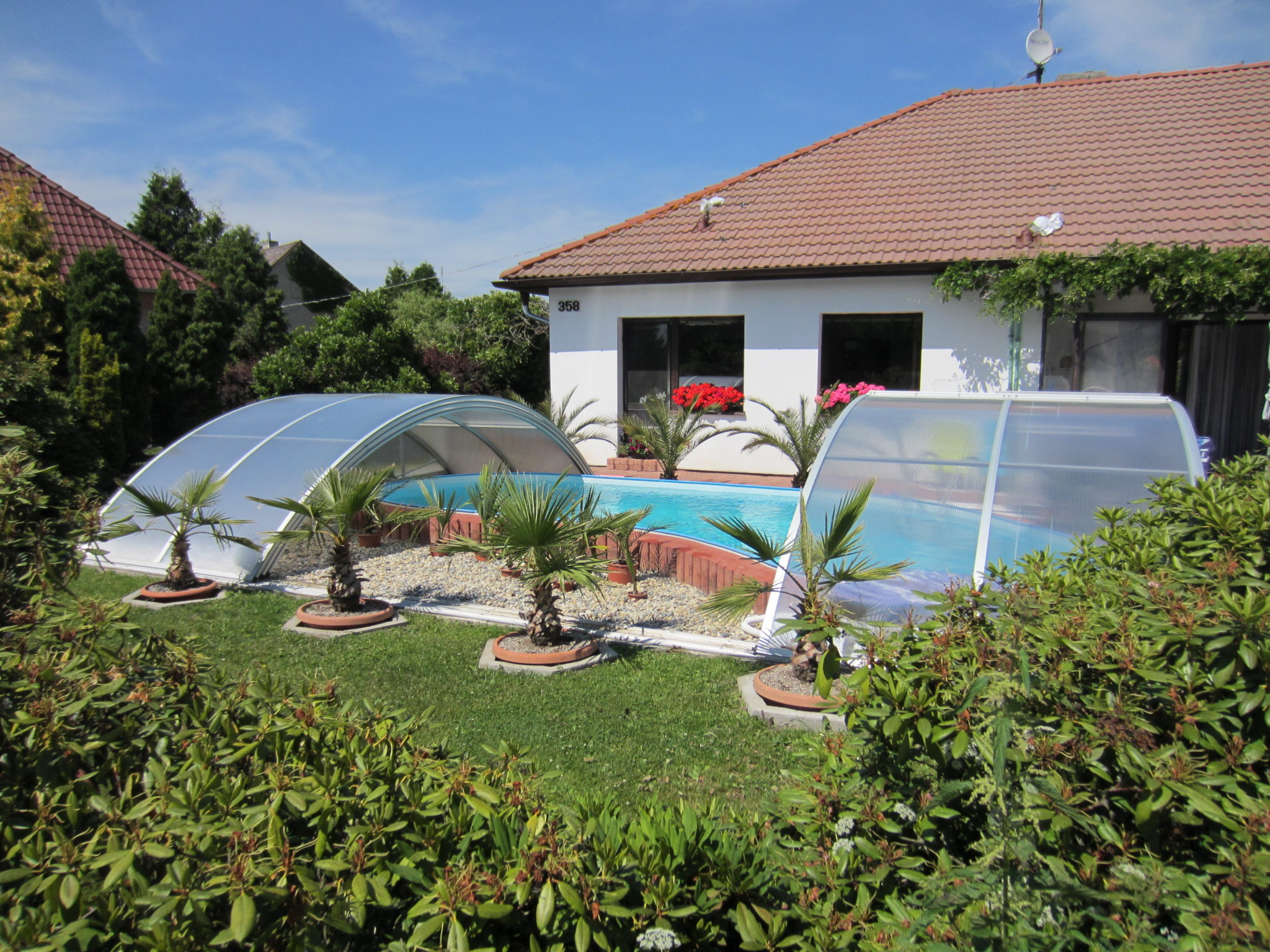 Kryt bazénu Poolor Classic - elox