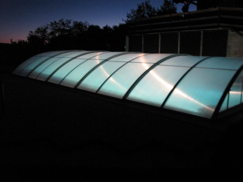 Krásné foto typu Poolor 3XL5+ v noci. Děkujeme!