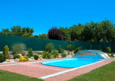 Zastřešení bazénu POOLOR Classic