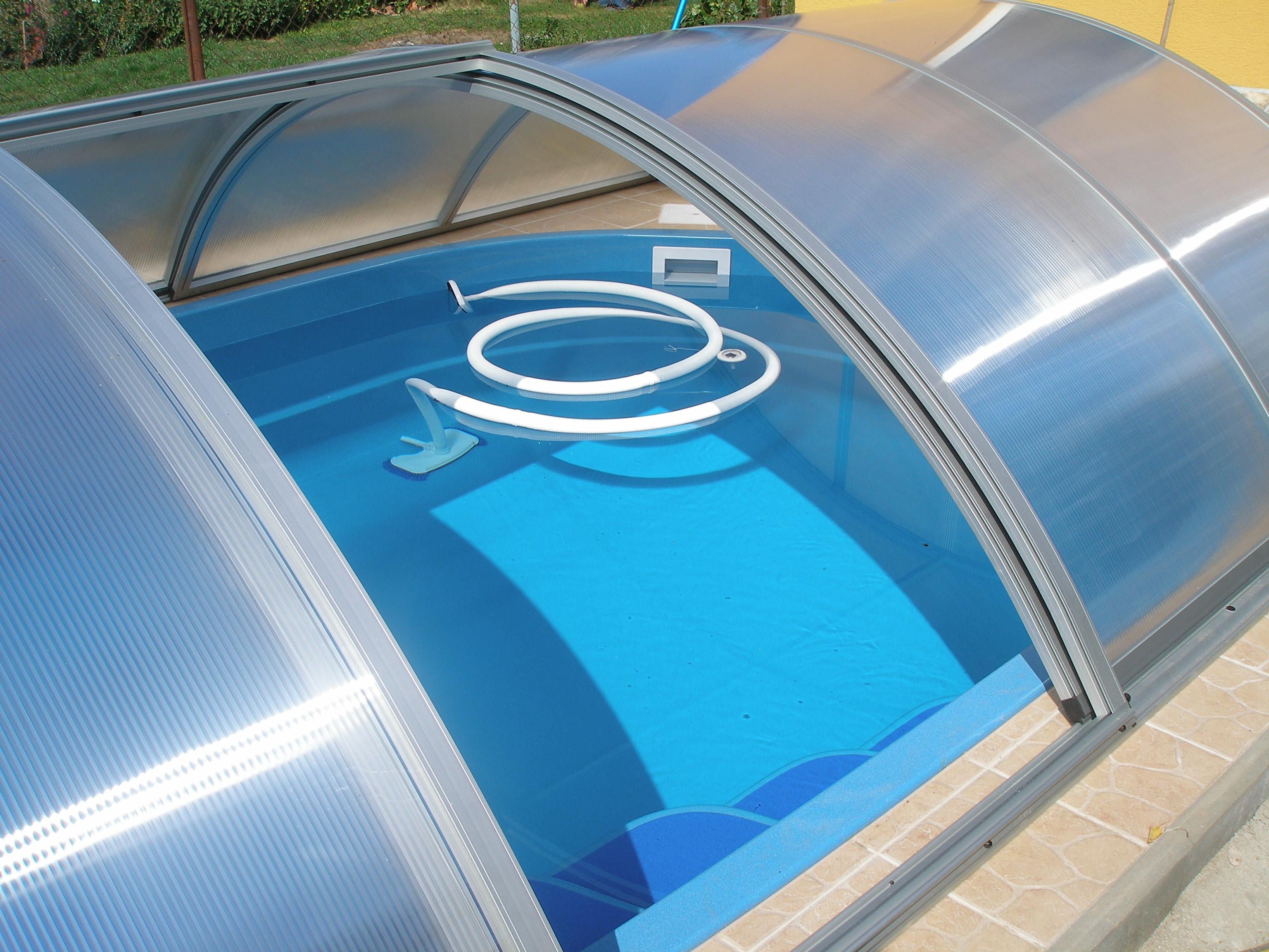 Boční dveře bazénového krytu Poolor