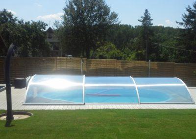 Zastřešení bazénu Poolor Classic - elox