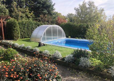 Zastřešení bazénu Poolor High