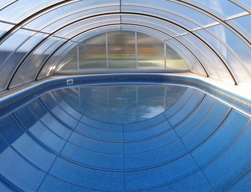 Základní modely zastřešení bazénů POOLOR
